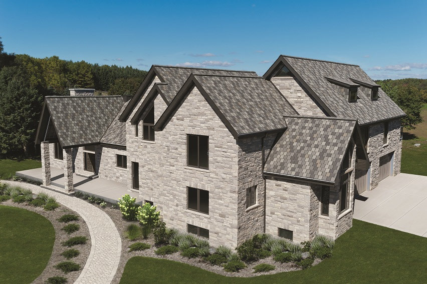 Built Green Canada Iko Crowne Slate Architectural Shingle