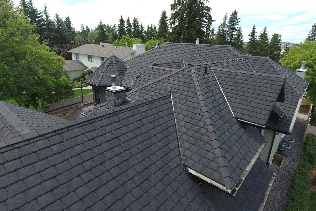 Built Green Canada Gem Euroslate Rubber Roofing Systems